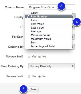 Creating your Window Column