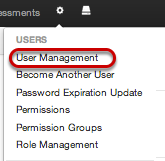 Option 2: User Management