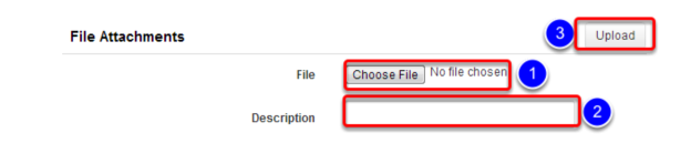 Upload Additional Evaluation Information