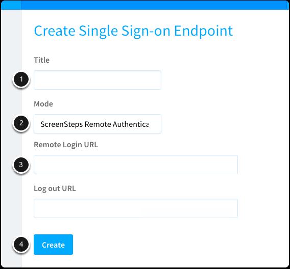 Configure Remote Authentication