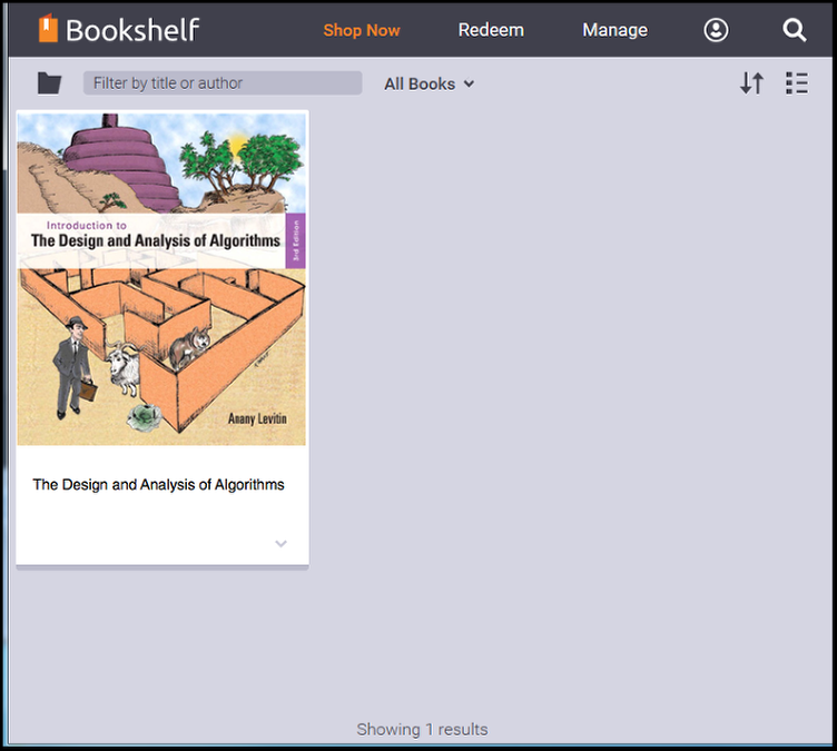 You can now view and access the eMaterials listed in your CSUF Bookshelf account.