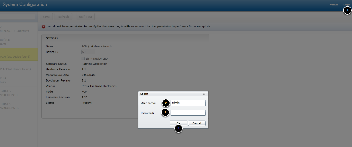 Updating CAN Node Firmware