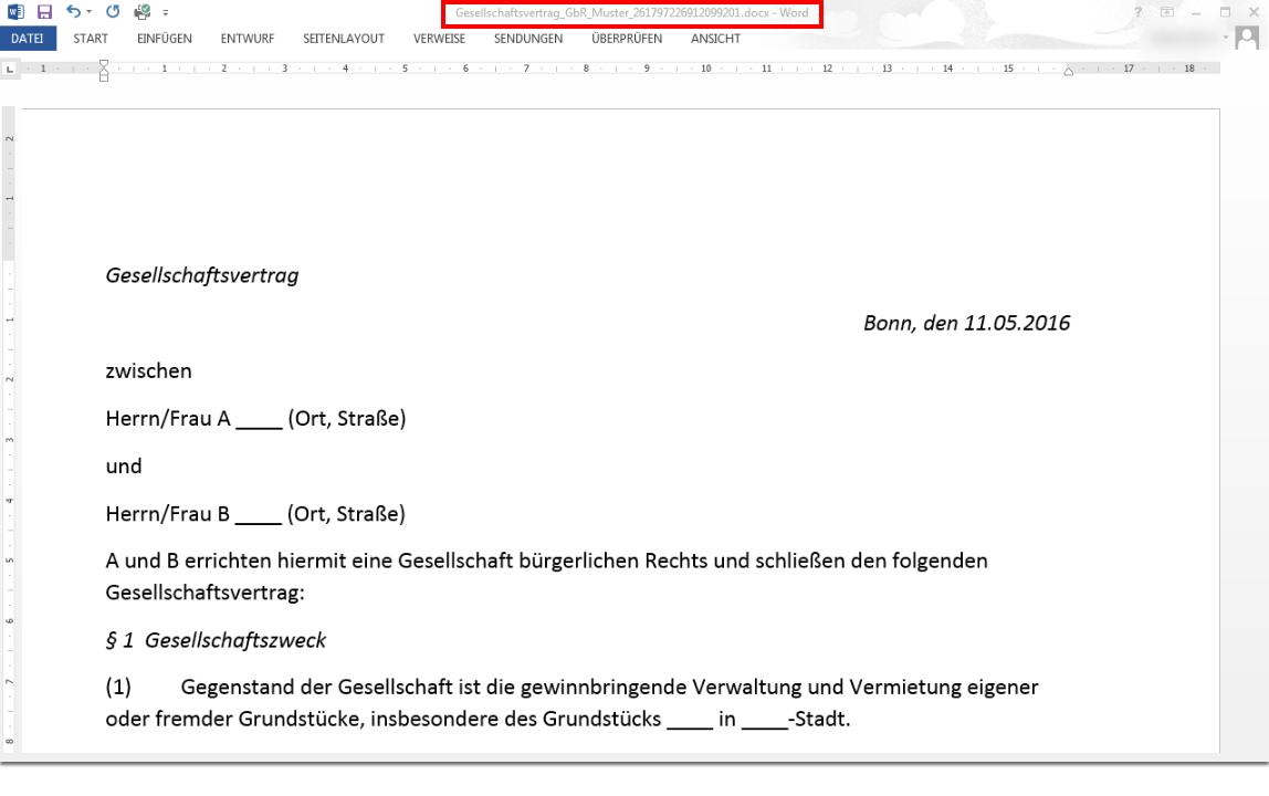 Dokumente bearbeiten und versionieren