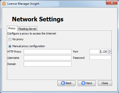Configuring proxy settings dug insight 4 user manual for Proxe vigila 3 manuale