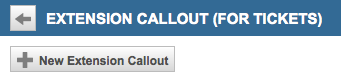 New Extension Callout