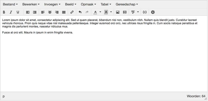 tekst-editor (nieuw)