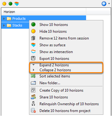 Expand/collapse multiple folders
