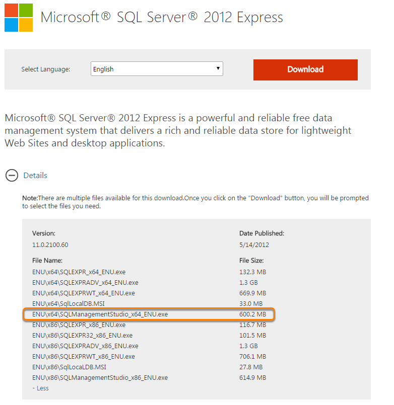 How to install sql server 2012 management studio express linglom. Com.