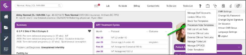 How to Set Up Your Procedure Note Templates – Artisan Medical Solutions