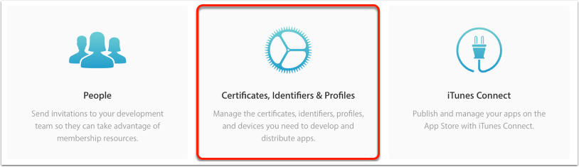 1. Obtain your iOS Distribution Certificate