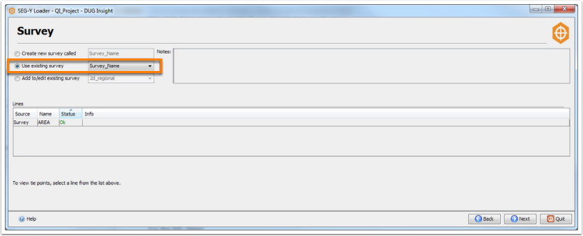 Example: Load full-stack and near-stack volumes for the same survey