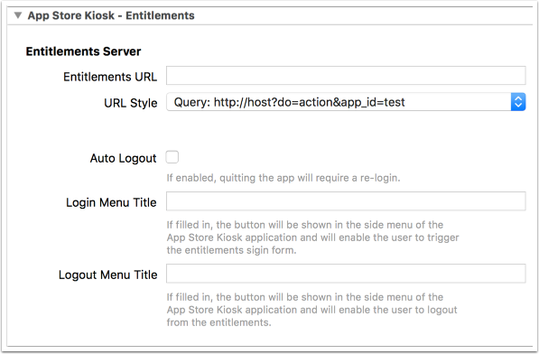 1. Enable entitlements in the build settings