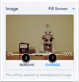 Modifier ou supprimer l'image