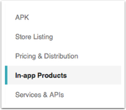 In-App Products