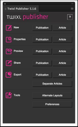 Twixl Publisher Plugin