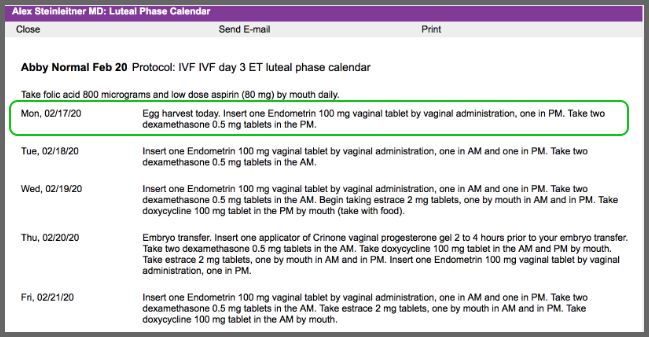 A Note About Luteal Phase Calendars – Artisan Medical Solutions
