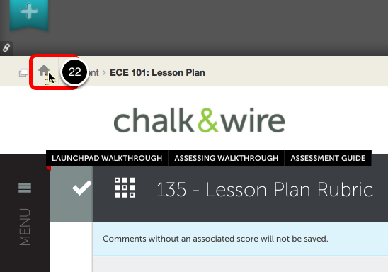 Step 11: View Assessment Results in Blackboard