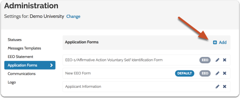 """Click """"Add New"""" to begin creating a new form, or """"Edit"""" to edit an existing one"""
