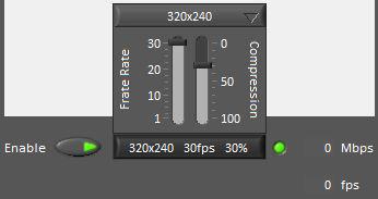 LabVIEW Dashboard camera stream controls