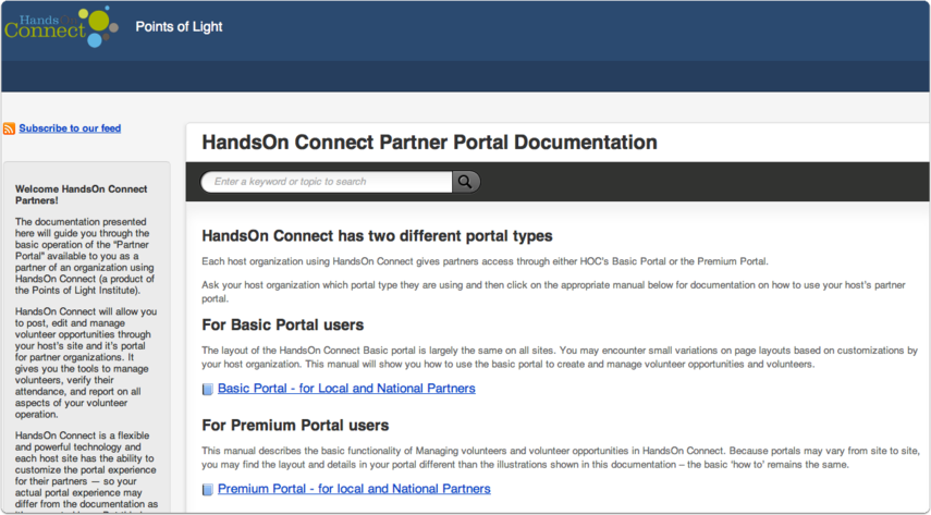 Full Documentation on using the partner portal(s) can be found in our Partner Staff Documentation