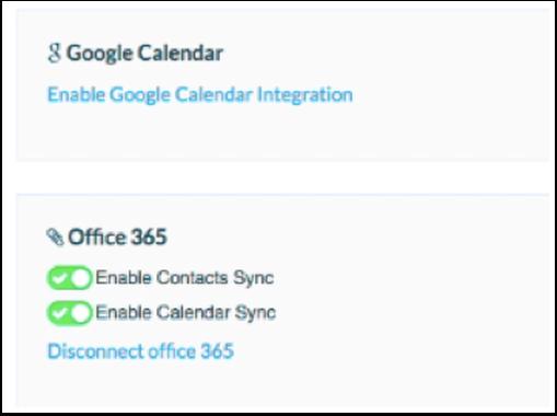 Enable The Calendar Sync