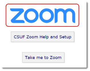 Zoom link is selected.