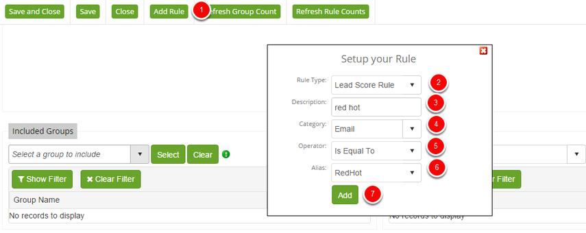 Lead Score Rule