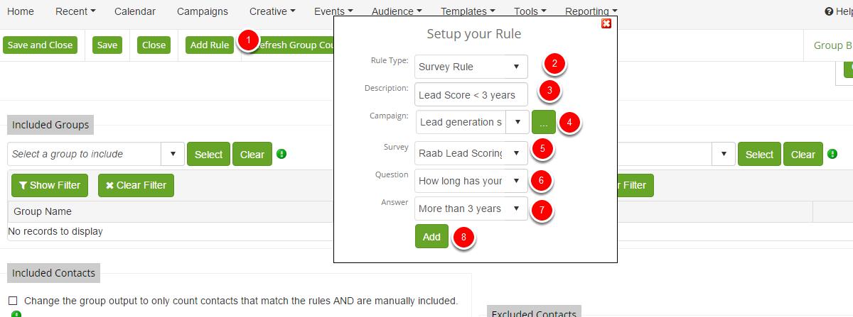 Survey Rule