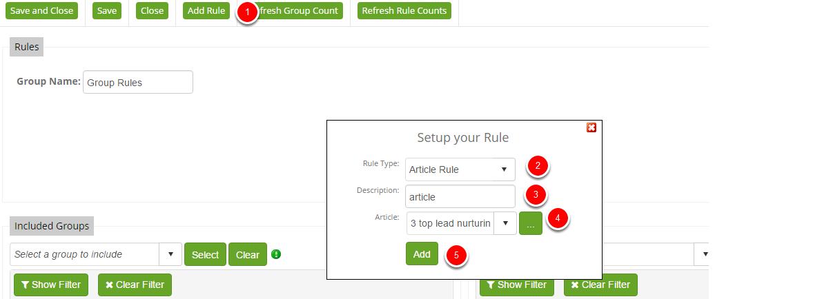 Article Rule