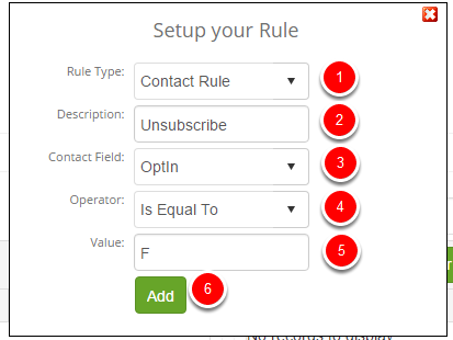 Adding a group rule