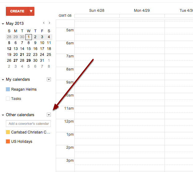 Unsubscribe from Google Calendar