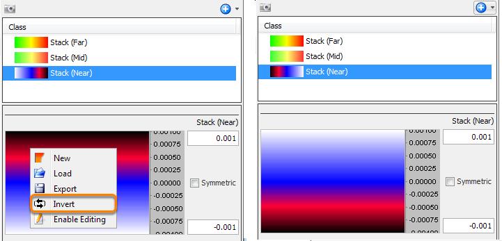 Inverting a Colourbar