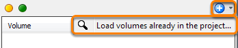 Add volumes to session