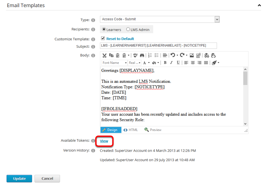 Email Templates Lms Admin Guide Accord Lms Documentation