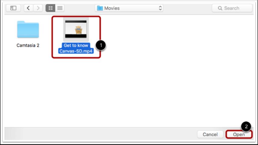 Öppna Videofil