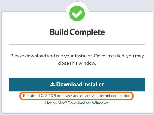 Minimum Support Version to Display