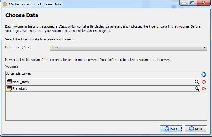 Choose data