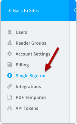 Select Remote Authentication from the side bar