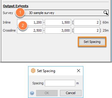 Define output parameters