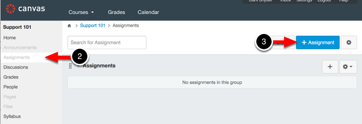 Step 2: Access Assignments