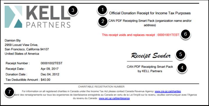 Receipt Settings Canadian Tax Receipting Kell Smartpack