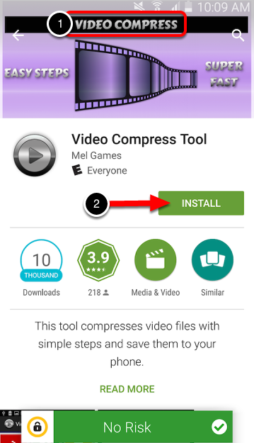 Step 1: Download Video Compress Application