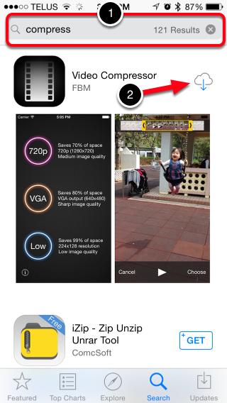 Step 1: Download Video Compressor Application