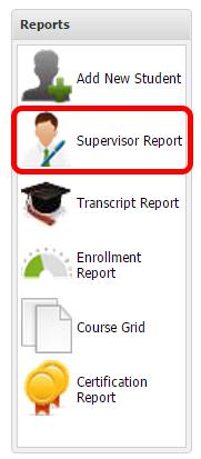 15) Supervisor Report