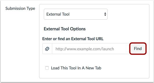 Encontrar herramienta externa