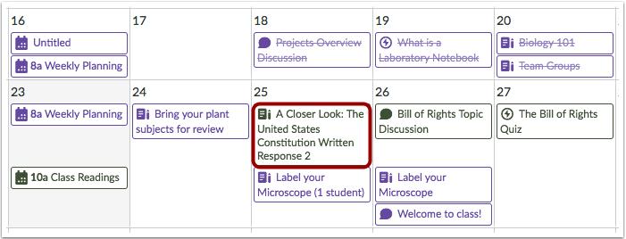 Ver titulos completos de tareas y eventos