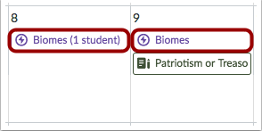 Ver fechas límites diferentes (instructores)