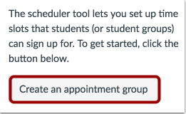 Crear un Grupo de Citas