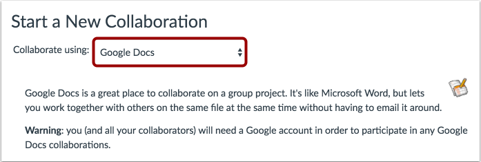 Colaborar al usar Google Docs