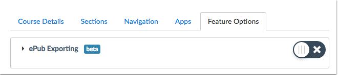 Exportación de ePub